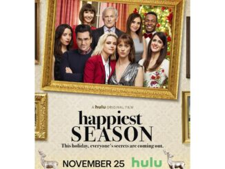 Happiest Season, a Hulu original film. Image courtesy of Hulu.